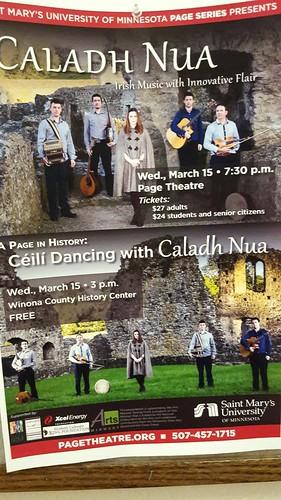 Caladh Nua Irish dancing