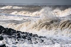 Roaring Sea (martinstelbrink) Tags: baltrum insel island nordsee northsea germany niedersachsen lowersaxony sony waves wellen surf brandung küstenschutz coastalprotection beach strand alpha77ii a77m2 a77ii sigma120400mmf4556 sigma tele