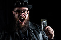 Il cartomante della notte (LucaSantin) Tags: 85mm d750 live nikon portrait ritratto vampire flash strobo v850 godox masquerade gdr rpg roleplay