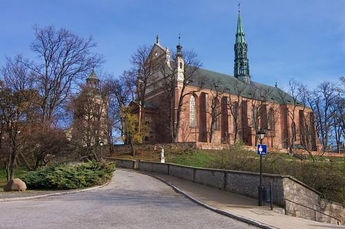 Katedra w Sandomierzu od południowego zachodu