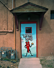 Little Reds (Mike Connealy) Tags: vuws vivitarultrawideandslim fuji200 unicolorc41 albuquerque