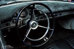 Rough Bird (Hi-Fi Fotos) Tags: ford thunderbird tbird interior cockpit steering wheel dash old worn beat rough vintage classiccar american nikon d5000 hififotos hallewell
