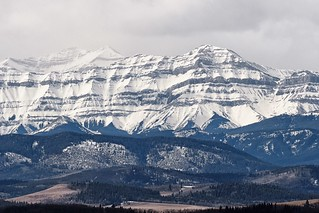 _3280104- Part of the Front Range, Canadian Rockies, Alberta.