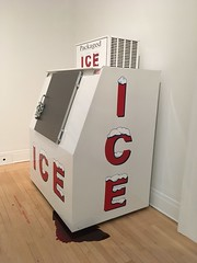 bloody ice machine (jessamyn) Tags: montreal quebec canada douglascoupland ice cca