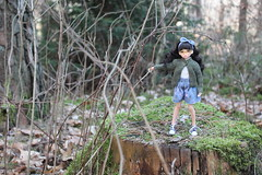 Have a nice weekend!!! (Ninotpetrificat) Tags: ruruko petworks purenemoxs woods wald bosque hobby doll japandoll japantoy toys cute kawaii hipster ramoneras