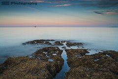 Crawfordsburn (C.M_Photography) Tags: crawfordsburn 10stop filter longexposure bangor northdown sea pastelle colourful sunset evening goldenhour rocks seascape blue pink sonyar72 sonyfe28mm