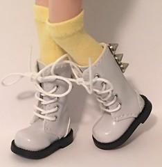 Yellow Tall Socks For Blythe...