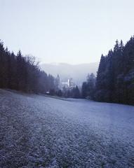 Castle Reichenstein (nikolaijan) Tags: plaubelmakina 67 plaubel kodak portra800 120 film austria muehlviertel oberoesterreich reichenstein forest
