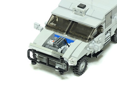 レゴ ウォードッグ多目的高機動車(LEGO War Dog Multipurpose High Mobility Vehicle)3 (popo lego) Tags: lego moc military army unarmored multipurpose high mobility vehicle レゴ 多目的 軍用車