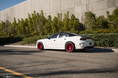 dodge-charger-scat-pack-m621-brushed-candy-apple-1 (AvantGardeWheels) Tags: dodge charger rt scat pack brushed candy apple 20inch m621 ag agwheel avant garde wheels directional american muscle gallery
