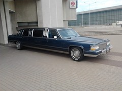 1990 Cadillac Brougham stretched limousine