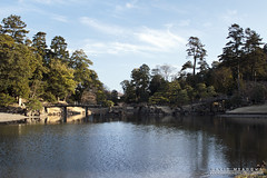 Gardens (DMeadows) Tags: davidmeadows dameadows davidameadows dmeadows japan japanese hikone castle history historic defence tourist tourism visit asia trip travel water reflect reflection reflections tree trees wood woodland wooden leaves garden gardens
