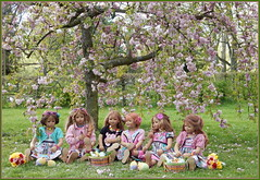 Kindergartenkinder ... wir wünschen ... Frohe Ostern (Kindergartenkinder) Tags: baum park sanrike annette himstedt dolls grugapark essen gruga frühling bellis kindergartenkinder tivi annemoni jinka milina ostern