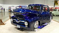 1955 Ford F100 (bballchico) Tags: 1955 ford f100 pickuptruck custom portlandroadstershow prs2017 carshow