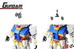 21. Gundam CGS assembly (Sam.C (S2 Toys Studios)) Tags: rx782 gundam mobilesuit legogundam lego moc samc s2toys 80s scifi mecha anime japan spacecraft