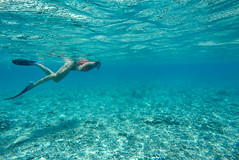 Lets go find those sea turtles! (Sitoo) Tags: air gili giliair giliislands indonesia lombok blue coral famousplace girl sea snorkel snorkeling touristdestination travel turquoise underwater