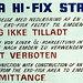 Temporary Decca Hi-Fix III slave 1 station - German Bight chain 1977