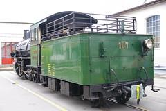 IMGP7790 (Alvier) Tags: schweiz graubünden rhb rhätischebahn landquart hauptwerkstätte tagderoffenentür triebfahrzeuge lokomotiven taufe triebzüge g45