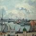 PISSARRO Camille,1903 - L'Anse des Pilotes, Le Havre, Matin, Soleil, Marée montante (Le Havre) - Détail 14