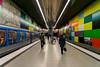 Underground: Georg-Brauchle-Ring (jaeschol) Tags: bayern deutschland europa germany kontinent munich münchen de underground ubahn georgbrauchlering