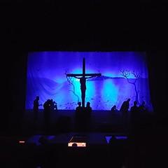 Jesus Christ Superstar: The Musical.  #Day110 #Crucifixion #lategram . (c) Marlene C. Francia 2017 . . . . . . . . . . . . . . . #JesusChristSuperstar #Musical #KenyaNationalTheater #Judas #JesusChrist #HolyWeek #Nairobi #LentenSeason #Easter