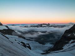Piz Murtel und Piz Corvatsch (.hansn#) Tags: piz bernina murtel corvatsch tschierva bianco biancograt ngc vadretda gletscher sonnenaufgang glacier eis ice mountain mountains mountaineering schweiz swiss alps alpen ostalpen westalpen pontresina st moritz