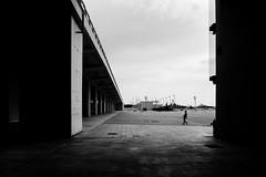 Athens, 2017 (Kostas Katsouris) Tags: black white blackandwhite monochrome sunday sundown kid play greece athens fuji fujifilm xt10 urban street bridge football