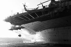 USS Midway (San Diego, CA) (zzra) Tags: aircraft carrier boat ship navy helicopter