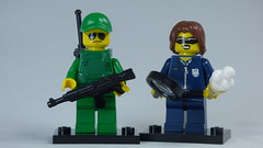 Brick Yourself Bespoke Custom Lego Figure Border Patrol