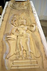 DSC_0361-61 (jjldickinson) Tags: nikond3300 105d3300 nikon1855mmf3556gvriiafsdxnikkor promaster52mmdigitalhdprotectionfilter longbeach dtlb sculpture carving longbeachconventioncenter worldwoodday wood