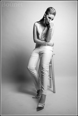 Attitude-5.... (pretorrien) Tags: kayt model sonya7r canon fd 35mm f2 studio fashion black white einstein 640 paul c buff beauty dish softbox