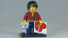 Brick Yourself Custom Lego Figure Romantic Gamer