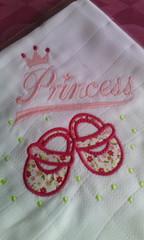 Princesa (leonilde_bernardes) Tags: fralda enxoval bebe girl enfant kinder lembrança presente coisasdebebe mae carinho sonho maternidade princesa