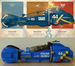 Lego Blade Runner Spinner Comparison (yetanothermocaccount) Tags: lego moc scifi blade runner bladerunner sydmead spinner harrison ford harrisonford rick deckard rickdeckard 2049