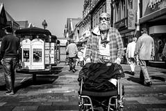 (Mister G.C.) Tags: street urban photography blackandwhite sunglasses shades facial tattoos bw germany