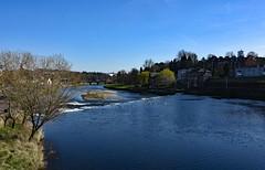 Dumfries - River Nith (clarktom845) Tags: dumfries nith nikon ngc river water