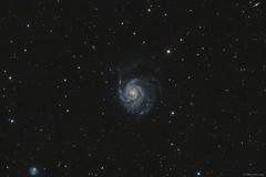 Messier 101 - Pinwheel Galaxy (hodorgabor) Tags: astrophoto astrophotography stars space galaxy night nightphotography messier sky deepsky longexposure