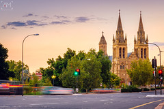 St. Peter's Cathedral in Adelaide (spotandshoot.com) Tags: adelaide anglican architecture australia authentic belief building cathedral catholic centre christian christianity church city cross district divine downtown evening exterior famous gothic green holy horizontal landmark life neogothic night outdoor park peters place religion religious road sacred sacrifice sights sky south spirit spiritual structure sunset tower traffic travel urban worship sa