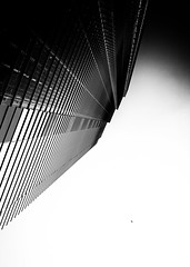 We Must Measure What We Might Gain By What We Might Lose - London City Architecture by Simon & His Camera (Simon & His Camera) Tags: city urban building lookingup contrast london architecture black white lines vertigo vertical skyline skyscraper monochrome blackandwhite bw dark glass sky light outdoor office simonandhiscamera tower window bird