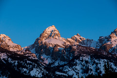 Grand Tetons (Zach Dischner) Tags: fun hiking jackson jacksonhole jeddiller night snow tetons winter wyoming sunrise sun nature mountain mountains peak tip summit cold early explore