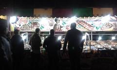 La piedad, Michoacán (raquel almaguer) Tags: shadows people bread night lights morelia méxico