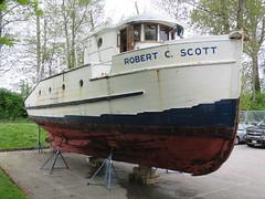Robert C. Scott (D70) Tags: robert c scott ii purchased 1953 alert bay marine mission served west coast vancouver island tahsis butedale 1963 robertcscott vessel boat