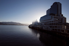 Vancouver - I (• CHRISTIAN •) Tags: vancouver bc britishcolumbia canada waterfront conventioncenter canadaplace harbour harbor grandangle wideangle urbain urban architecture