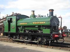 IMG_4818 - GWR Hudswell Clarke Saddle Tank 813 (SVREnthusiast) Tags: didcotrailwaycentre didcot railway centre gwrhudswellclarkesaddletank813 gwr hudswellclarke saddletank 813