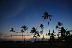 Ala Moana Beach Park (ALOHA de HAWAII) Tags: sunset alamoanabeachpark