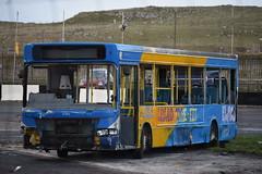 W566 JVV (markkirk85) Tags: buxton raceway bus buses demolition derby dennis dart slf plaxton pointer ex stagecoach east kent new petes travel smethwick 32000 w566 jvv w566jvv 33383