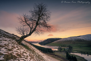 Winter Over St Mary's Loch