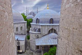 Ayasofya'dan Sultan Ahmet Cami