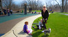 Peggy (ex_magician) Tags: peggy sister belle dog cute claddaghring sarah oaklawn illinois chicagotrip moik photo photos picture pictures image april 2017 suburbs suburban bliss interesting wolfewildlifepark