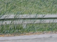 Wolfram Zimmer: Abandoned - Aufgegeben (ein_quadratmeter) Tags: wolfram zimmer bilder kunst malerei gemälde painting konzeptkunst concept art objektkunst objekt mein freiburg burg birkenhof kirchzarten ausstellung ausstellungen peinture exhibition exhibitions leben geschichte wetter witterung regen weather weathering rain n4 landstrase paris le corbier verlassen aufgegeben verfall verfallen strasenlärm highway abandoned decay traffic noise